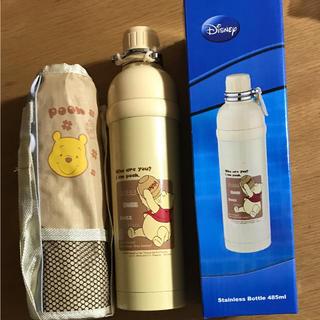 Disney - 新品 プーさん ディズニー カバー付 直飲みステンレスボトル 子供用水筒