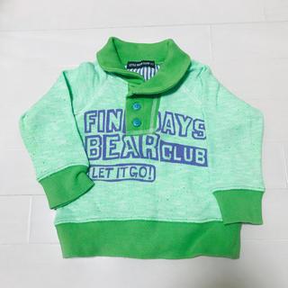 リトルベアークラブ(LITTLE BEAR CLUB)のLITTLE BEAR CLUB▶︎トレーナー▶︎size90▶︎格安(ジャケット/上着)