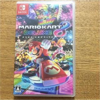 ニンテンドウ(任天堂)のマリオカート8デラックス switch(家庭用ゲームソフト)