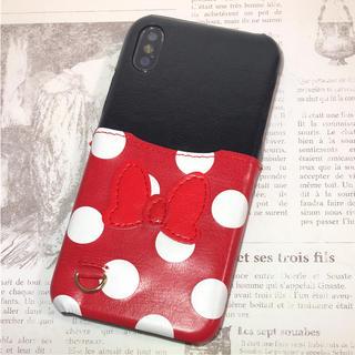 ディズニー(Disney)のiPhone ケース カバー ソフトケース ディズニー ミニー Disney(iPhoneケース)