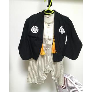 アカチャンホンポ(アカチャンホンポ)の【美品】袴ロンパース 70(和服/着物)