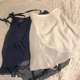 チャコット(CHACOTT)のチャコット バレエ 巻きスカート 2枚セット(ダンス/バレエ)