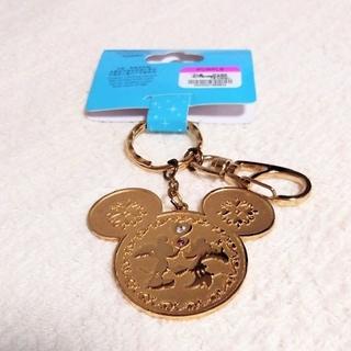 ディズニー(Disney)の香港ディズニーランド限定 キーホルダー/キーチェーン ミッキーとミニー(キャラクターグッズ)