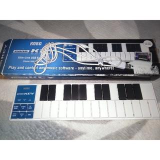 コルグ(KORG)のKORG nano KEY(MIDIコントローラー)