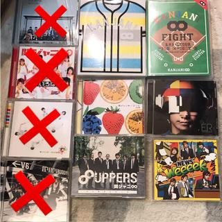 ジャニーズ CD.DVDまとめ売り セット(アイドルグッズ)