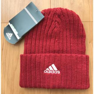 アディダス(adidas)のアディダス  キッズ用  ニット帽  (帽子)
