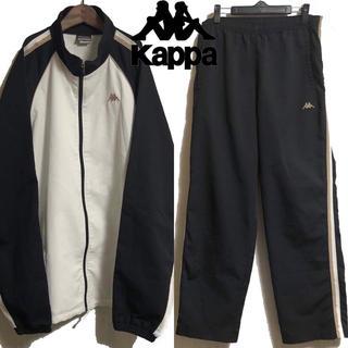 カッパ(Kappa)の古着 Kappa カッパ トラックジャージ セットアップ  ロゴ(ジャージ)