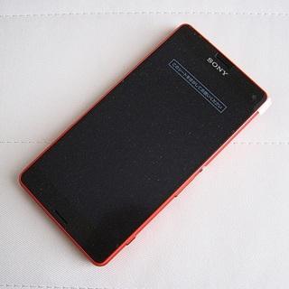 ソニー(SONY)の【外装交換品】ドコモ Xperia Z3 compact SO-02G オレンジ(スマートフォン本体)