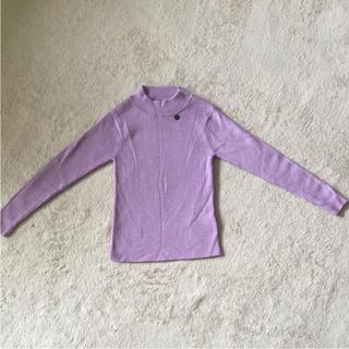 ANNA SUI mini - 【美品】アナスイ ミニ 薄い紫セーターF