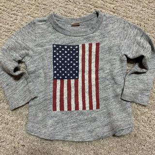 プティマイン(petit main)のプティマイン100 トレーナーロンT(Tシャツ/カットソー)