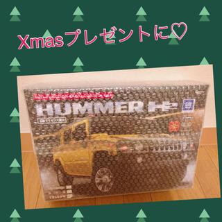 ハマー(HUMMER)のXmasに!HUMMER 正規 ラジコン イエロー(ホビーラジコン)