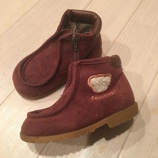 ファミリア(familiar)のfamiliar ブーツ 14.5(ブーツ)