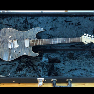 T's Guitars DST-DX22 Trans-Blue Denim極美品(エレキギター)
