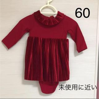 エイチアンドエム(H&M)のワンピース ドレス 60 ベビー(ワンピース)