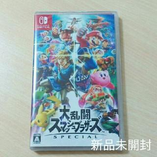 ニンテンドースイッチ(Nintendo Switch)の新品未開封 大乱闘スマッシュブラザーズ  switchパッケージ版です (家庭用ゲームソフト)