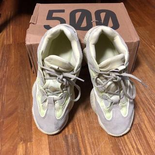アディダス(adidas)のyeezy500(スニーカー)