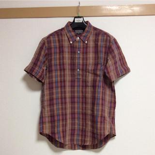 ビューティアンドユースユナイテッドアローズ(BEAUTY&YOUTH UNITED ARROWS)のUNITED ARROWS BEATY&YOUTH 半袖シャツ チェックシャツ(シャツ)