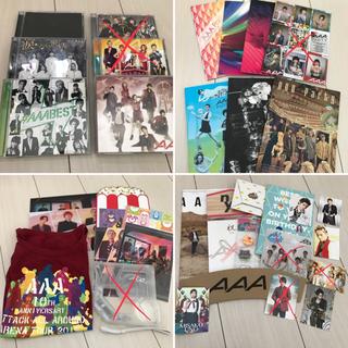 トリプルエー(AAA)のAAA グッズ アルバム DVD CD(ミュージシャン)