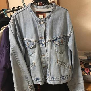levi's ノーカラー デニムジャケット vintage(Gジャン/デニムジャケット)