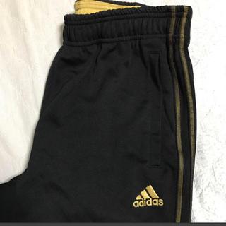 アディダス(adidas)のアディダス ジャージ 黒 金(その他)