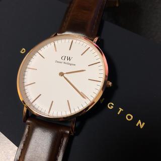 ダニエルウェリントン(Daniel Wellington)のDANIEL WELLINGTON ダニエルウェリントン 40mm(腕時計(アナログ))