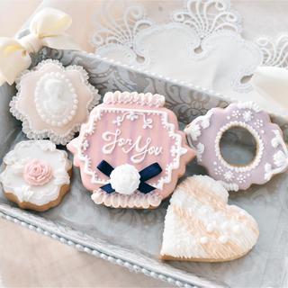 プレゼントにオススメ☆人気のアイシングクッキーセット(菓子/デザート)