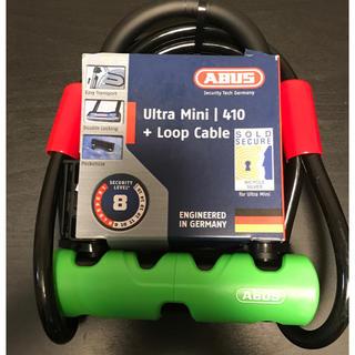アバス(ABUS)の新品未使用 ABUS ULTRA MINI 410/150 SH+Cobra (その他)
