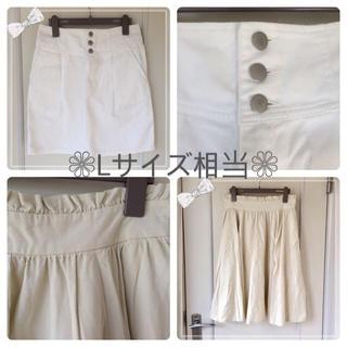シマムラ(しまむら)のスカート ❁ L size(ひざ丈スカート)