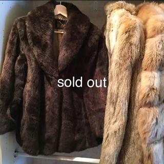 エディットフォールル(EDIT.FOR LULU)のvintage  fake fur coat.(毛皮/ファーコート)