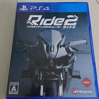プレイステーション4(PlayStation4)のps4 ride2未使用(家庭用ゲームソフト)
