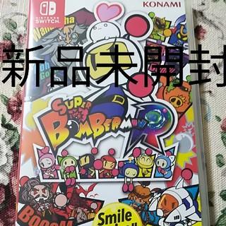 ニンテンドースイッチ(Nintendo Switch)の新品 switch スーパーボンバーマンR(家庭用ゲームソフト)