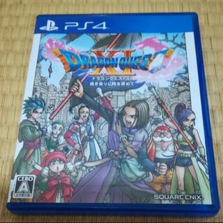 プレイステーション4(PlayStation4)の【美品】PS4 ドラゴンクエストXI 過ぎ去りし時を求めて(家庭用ゲームソフト)
