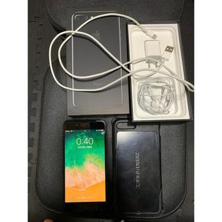 アップル(Apple)のiPhone 7 plus simロック解除済 128gb(スマートフォン本体)