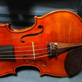 ガルデリ4/4 バイオリン guardelli ケース、弓