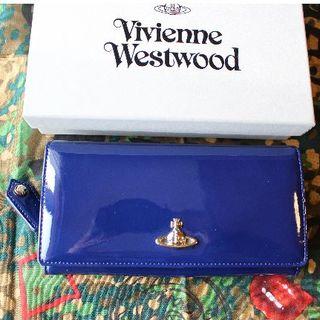 ヴィヴィアンウエストウッド(Vivienne Westwood)の新品 ヴィヴィアン 2018SS VERNICE LONG WALLET ブルー(財布)