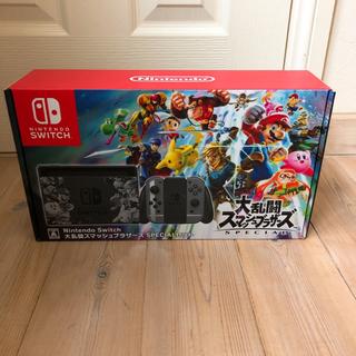 ニンテンドースイッチ(Nintendo Switch)の新品Nintendo Switch 大乱闘スマッシュブラザーズSPECIAL(家庭用ゲーム本体)