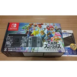 ニンテンドースイッチ(Nintendo Switch)のニンテンドー スイッチ スマブラ 本体 未使用(家庭用ゲーム本体)