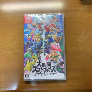 ニンテンドースイッチ(Nintendo Switch)の【新品】大乱闘スマッシュブラザーズ スペシャル ソフト(家庭用ゲームソフト)