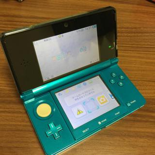 ニンテンドー3DS(ニンテンドー3DS)の3DS本体(携帯用ゲーム本体)