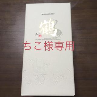 ニッカウイスキー(ニッカウヰスキー)の【未開栓】鶴 金文字 700ml ニッカウヰスキー 蒸溜所限定 箱付き(ウイスキー)