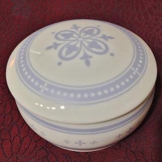 サンキョー(SANKYO)の陶器小物入れオルゴール 愛知せともの マイフェイバリットシングス ブルー 日本製(オルゴール)