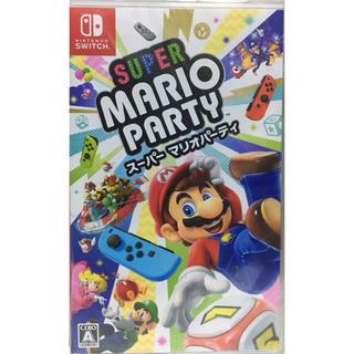 ニンテンドースイッチ(Nintendo Switch)の【送料無料】新品 Switch スーパー マリオパーティ (家庭用ゲームソフト)