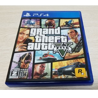 グランドセフトオート5 PS4(家庭用ゲームソフト)