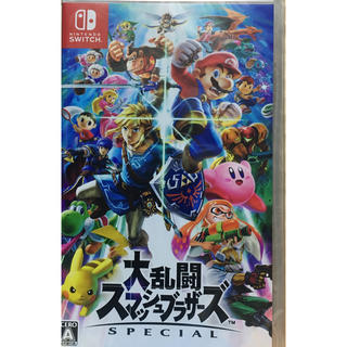 ニンテンドースイッチ(Nintendo Switch)の【送料無料】新品 Switch 大乱闘スマッシュブラザーズ SPECIAL (家庭用ゲームソフト)