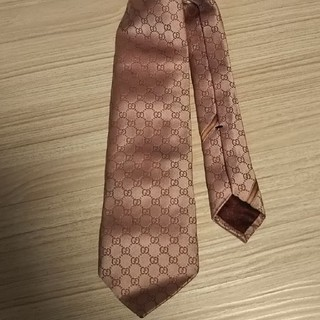 Gucci - GUCCIグッチ ネクタイ ピンク