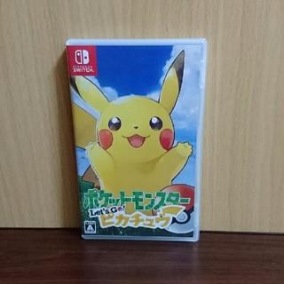 ニンテンドースイッチ(Nintendo Switch)のポケットモンスター Let's Go! ピカチュウ switch  (家庭用ゲームソフト)