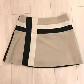 グレースコンチネンタル(GRACE CONTINENTAL)の新品同様 グレースコンチネンタル ウール100% スカート(ひざ丈スカート)