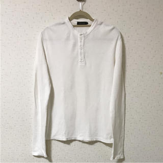 カルバンクライン(Calvin Klein)のCalvin Klein カルバンクライン メンズ ロンT カットソー ワッフル(Tシャツ/カットソー(半袖/袖なし))