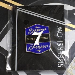 スーパージュニア(SUPER JUNIOR)のピンズ(EC限定ver) ★SUPER SHOW7 ★ SUPER JUNIOR(アイドルグッズ)