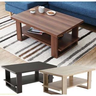 センターテーブル  収納 棚 木製 リビングテーブル ローテーブル(ローテーブル)